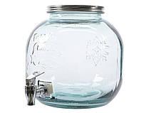 Стеклянная банка для жидкости 23х24 cм