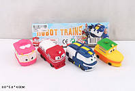 Набор для ванной CH8804 Robot Trains 4шт в кульке 8*5*4