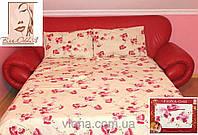 Качественное постельное белье бязь сакура семейное