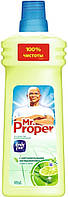 Моющая жидкость для полов и стен MR PROPER Бодрящий лайм и мята 750 мл