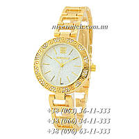 Часы наручные женские с камушками золотые Givenchy