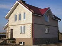 Строительство кирпичных домов.