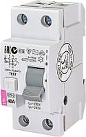 УЗО (диф. реле) EFI-2 40/0,03 тип AC (10kA)