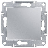 Выключатель 1-кл. алюминий Sedna