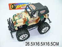 Машина инерционная игрушка Джип машинка Армия 26х16х16