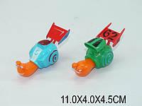 Игрушка  инерционая  Улитка - Турбо, 2 вида, в пакете 11х4х4 (m+)