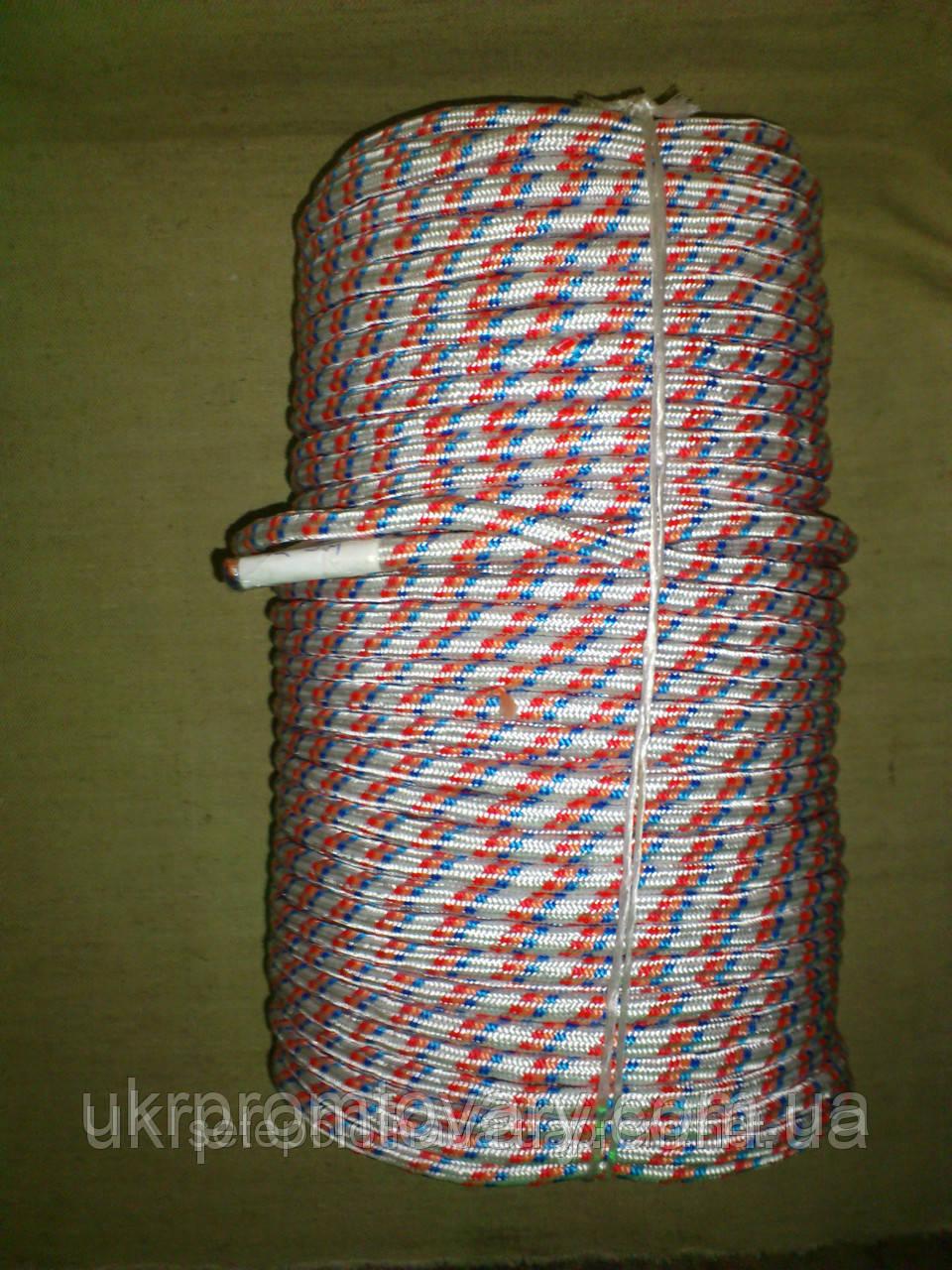 Шнур полипропиленовый плетеный Ø8 мм, Киев