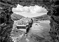 Светящиеся картина Startonight Пещера Пейзаж Черно Белые Печать на Холсте Декор стен Дизайн дома Интерьер