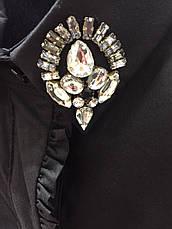 Брендовая женская блузка белая итальянская , фото 2