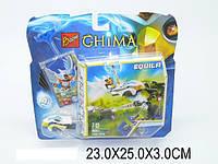Конструктор Chima 101 деталей на планшете 23х25х3