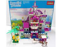Конструктор COGO Красивая принцесса, 569 деталей, в коробке 55х40х10 (m+)