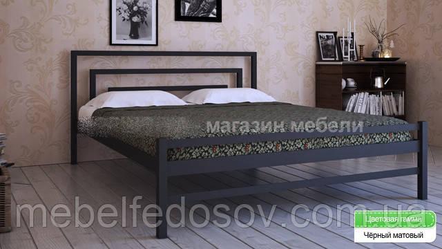 металлическа кровать брио 2 метакам