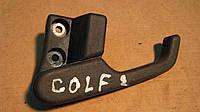 Рычаг открывания капота Volkswagen Golf 2, 19183722501C, 19183722601C