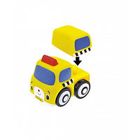 Транспорт-конструктор 'Школьный автобус' серии Popbo™. K's Kids (10681)