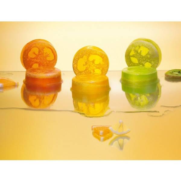 Прекрасное средство для пиллинга в сочетании с аромотерапией - болгарское глицериновые мыла с натуральной губкой (люфа). Серия состоит из 3-х видов натурального глицерынового мыла с мочалкой:- Лимон- Экзотик- Апельсин