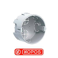 Коробка монтажная кирпич/бетон KOPOS KP 68, серый