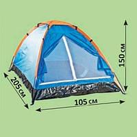 Палатка туристическая 2-х местная,недорогие палатки