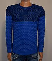 Мужской свитер электрик Турция 5045