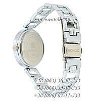 Часы наручные женские с камушками серебряные Givenchy под серебро SSB-1102-0005