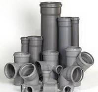 Трубы и фитинги для внутренней канализации пвх