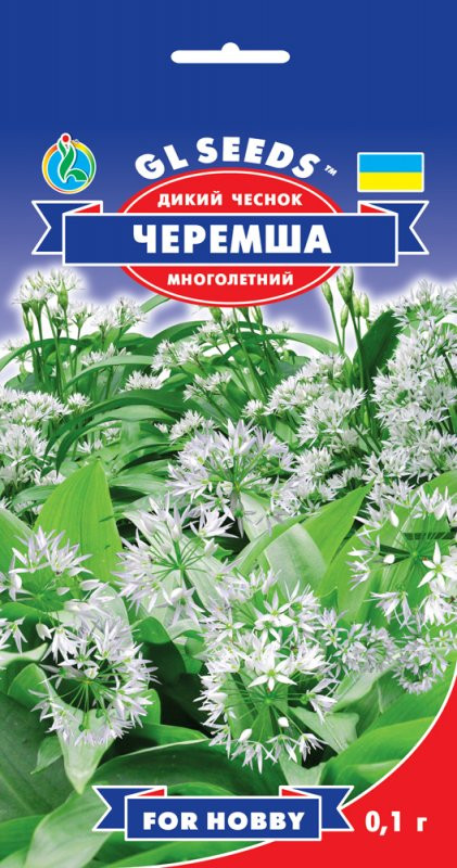 Семена Черемша (Дикий Чеснок) 0,1г ТМ GL SEEDS For Hobby