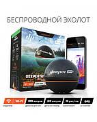 Беспроводной эхолот Deeper Sonar Pro+ (wi-fi & gps)  Беспроводной эхолот Deeper Sonar Pro+ (wi-fi & gps)