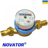 Счетчик холодной воды новатор лк-15х