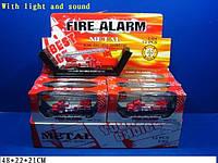 Модель пожарка 0750-9 металл 12шт в коробке