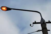 Демонтаж вуличного світильника