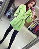 """Женское кашемировое пальто """"Chanel"""", в расцветках. Т-5-0117, фото 4"""