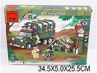 "Конструктор ""Brick - Военный грузовик"" 308 дет., в кор. 34х5х25 /30/ (m+)"