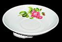 Блюдце 140 мм Роза кавказа