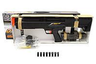 Автомат с водяными пулями на батарейках в коробке 61*7*23 см