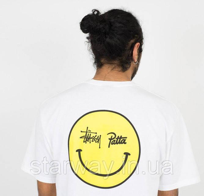 Футболка |Stussy Patta Smile|