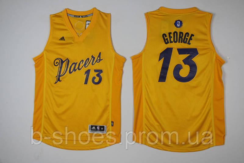 Мужская баскетбольная майка Indiana Pacers (Paul George) Yellow