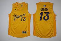 Мужская баскетбольная майка Indiana Pacers (Paul George) Yellow, фото 1