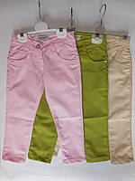 Детские брюки для девочек от 1 до 4 лет