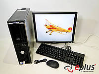 ПК Dell Optiplex 745 (DT) + Dell 1704 бу