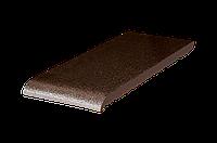 Клинкерная плитка для подоконников Коричневая глазурь (02)