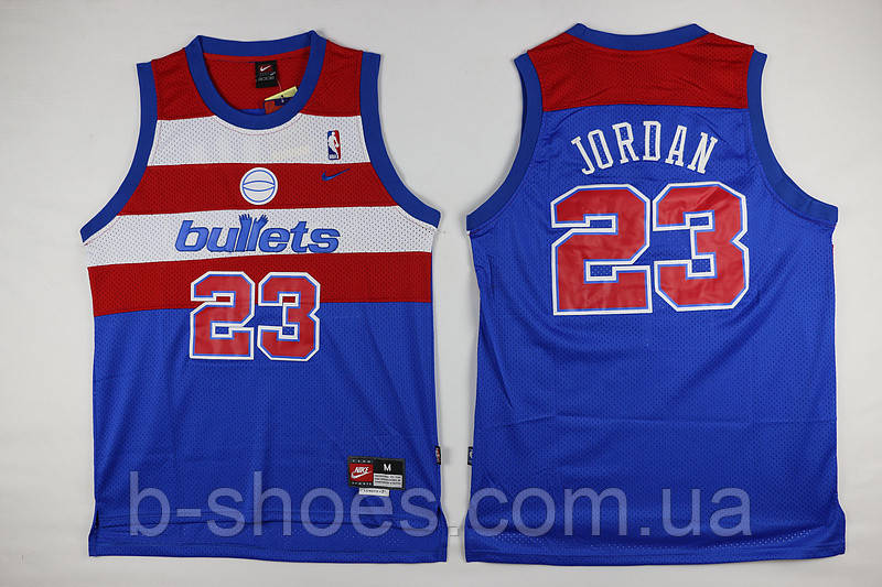 Мужская баскетбольная майка Washington Wizards (Michael Jordan) Blue