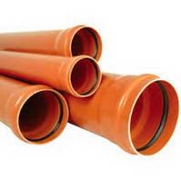 Труба безнапорная для наружной канализации 110х4000