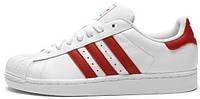 Женские кроссовки Adidas Superstar (Адидас Суперстар) белые