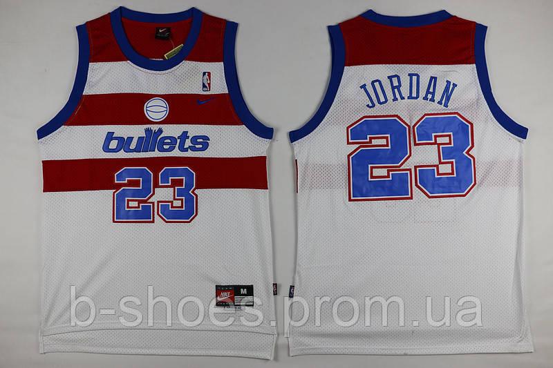 Мужская баскетбольная майка Washington Wizards (Michael Jordan) White