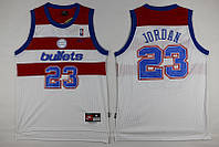 Мужская баскетбольная майка Washington Wizards (Michael Jordan) White, фото 1
