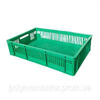 Ящики пластиковые из вторичного сырья 600х400х140