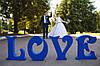 Буквы на свадьбу