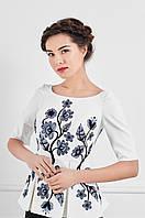 Блуза вечірня вишита, фото 1
