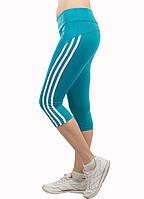 Спортивные бриджи Adidas  light blue