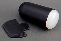 Силиконовый штамп для стемпинга черный