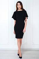 Сукня рукав сонце коротка чорна